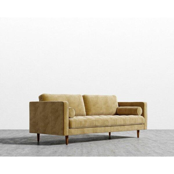 Korey Square Arms Sofa By Corrigan Studio
