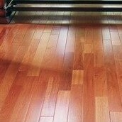 3 Solid Brazilian Rosewood Hardwood Flooring in Natural by IndusParquet