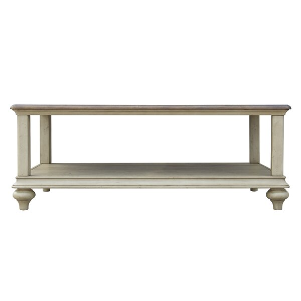 Kennington Solid Wood Coffee Table with Storage by Gracie Oaks Gracie Oaks