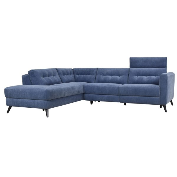 Dante Reclining Power Modular Sectional by Brayden Studio