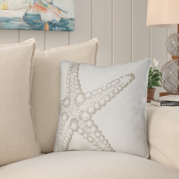 Brookline Nautical III Indoor/Outdoor Throw Pillow by Beachcrest Home