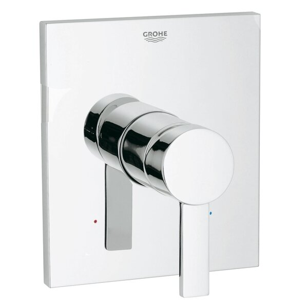 Allure Pressure Balance Valve Faucet Trim with Lever Handle by Grohe
