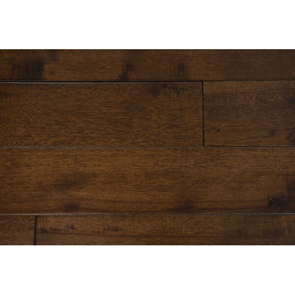 Thames 5 Solid Hickory Hardwood Flooring in Coffee by Branton Flooring Collection