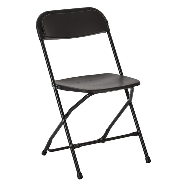 Metal and Plastic Folding Chair (Set of 10) by Office Star Products