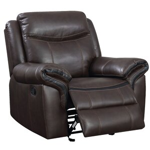 Hassen Transitional Manual Glider Recliner by Latitude Run