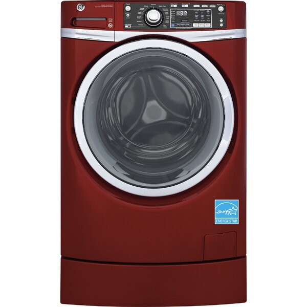 RightHeight Design 8.3 cu. ft.  High Efficiency Gas Dryer with Steam by GE Appliances