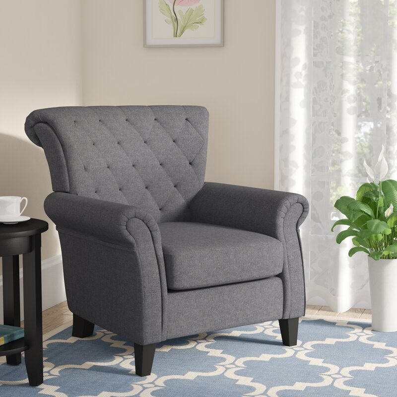 Three Posts Penbrook Armchair Amp Reviews Wayfair