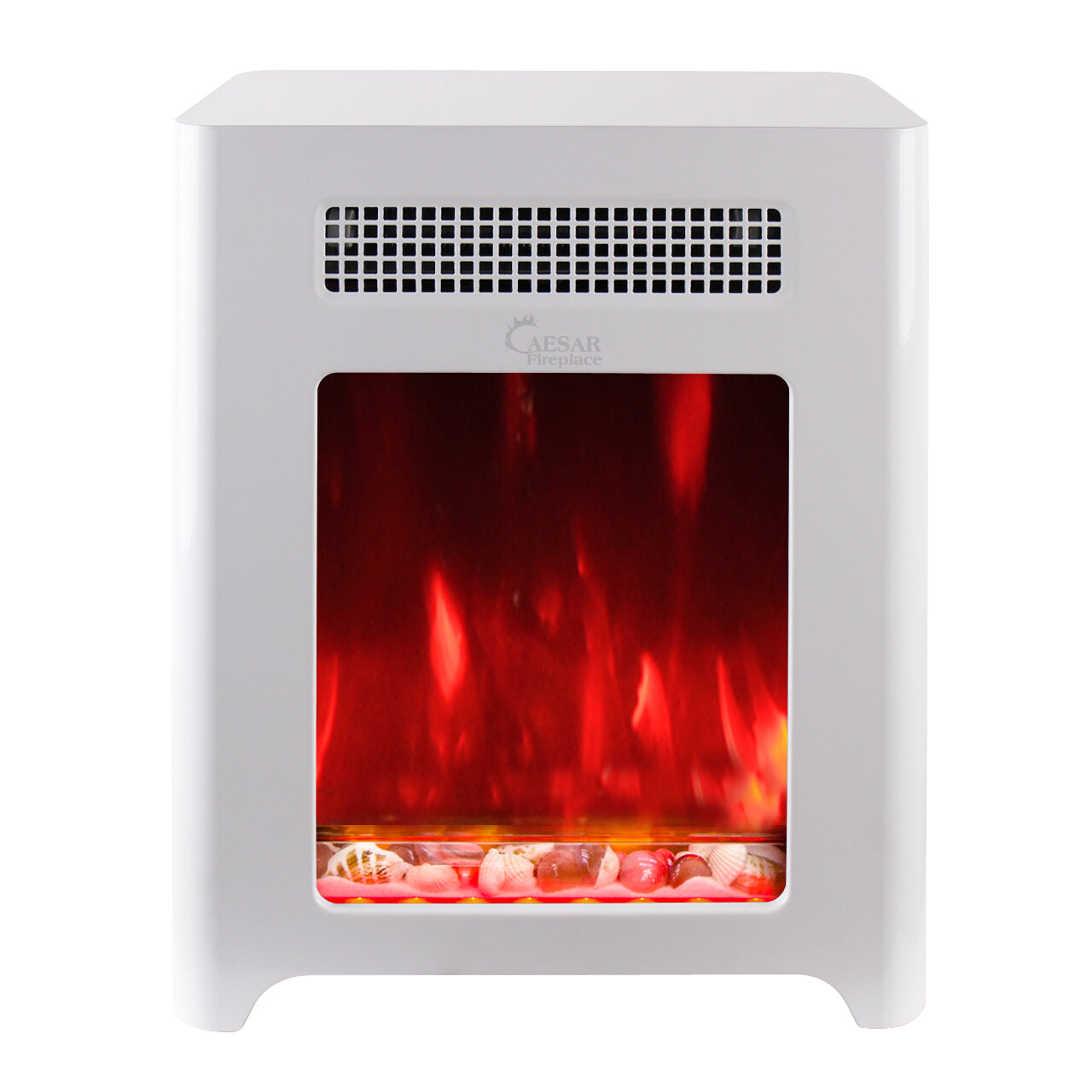 Caesar Hardware International Limited Luxury Portable Mini Indoor Compact  Freestanding Electric Fireplace | Wayfair