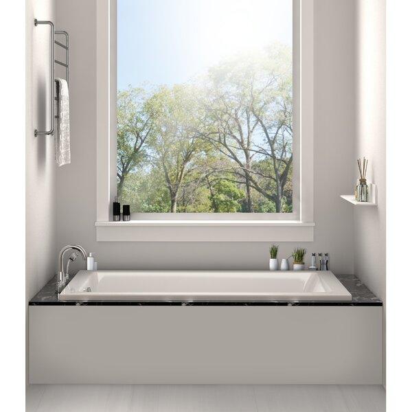 60 x 30 Alcove Soaking Bathtub by Fine Fixtures