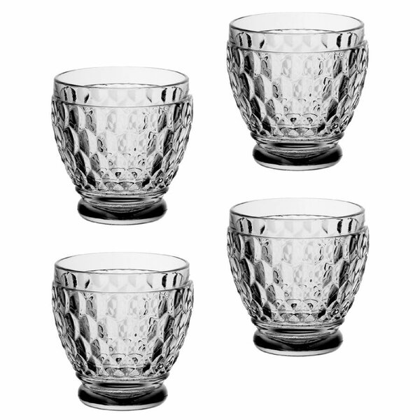 Boston 3 oz. Crystal Shot Glass (Set of 4) by Villeroy & Boch