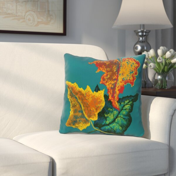Wilmington Autumn Outdoor Throw Pillow by Three Posts