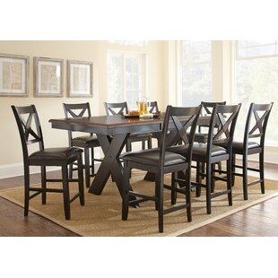 Amsterdam 9 Piece Counter Height Dining Set By Alcott Hill