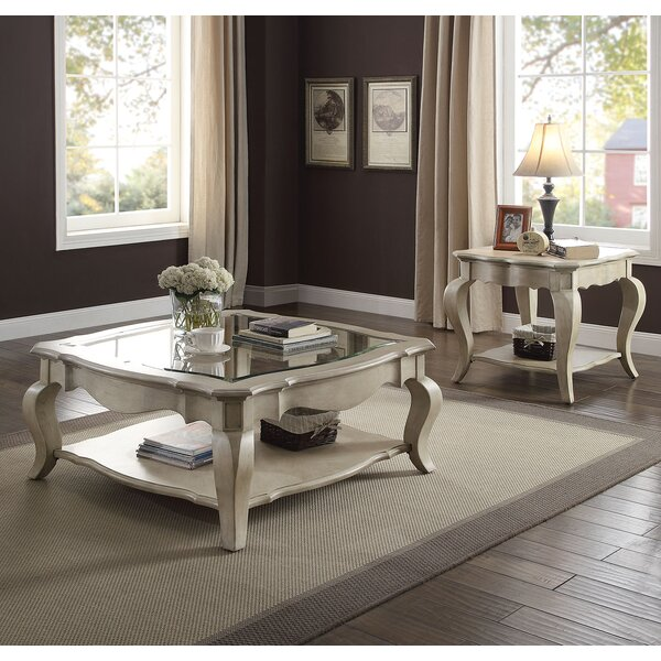 Adalgar 2 Piece Coffee Table Set by One Allium Way