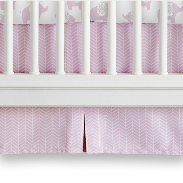 Elodie Crib Dust Ruffle by Wendy Bellissimo