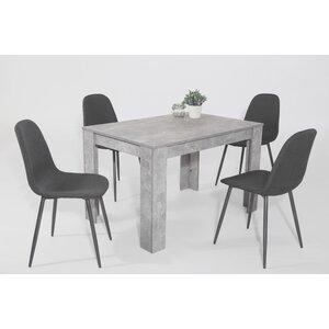 Essgruppe Carina mit 4 Stühlen von Hela Tische