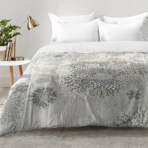 Winter Latte Comforter Set by East Urban Home