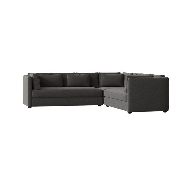 Monroe Symmetrical Sectional By Wayfair Custom Upholstery™