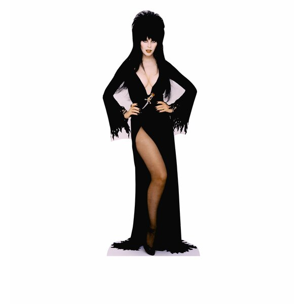 Elvira Hands on Hips Mini Cardboard Standup by Advanced Graphics