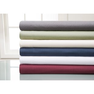 Read Reviews Haddan 100% Cotton Flannel Sheet Set By Alcott Hill