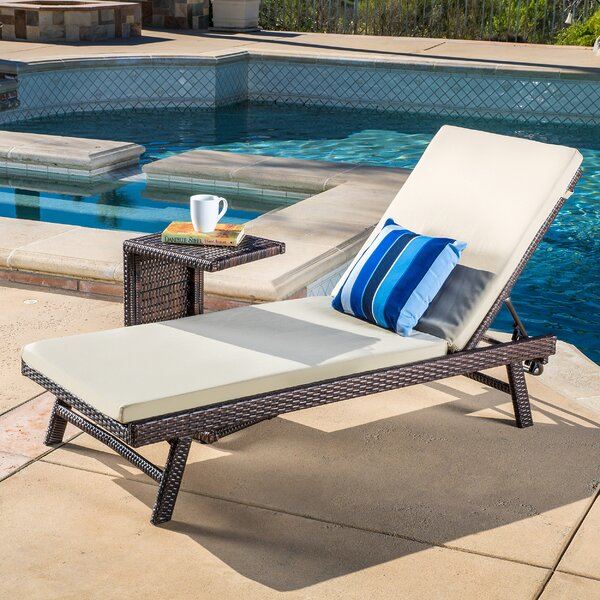 Witte 2 Piece Chaise Lounge Set by Wrought Studio