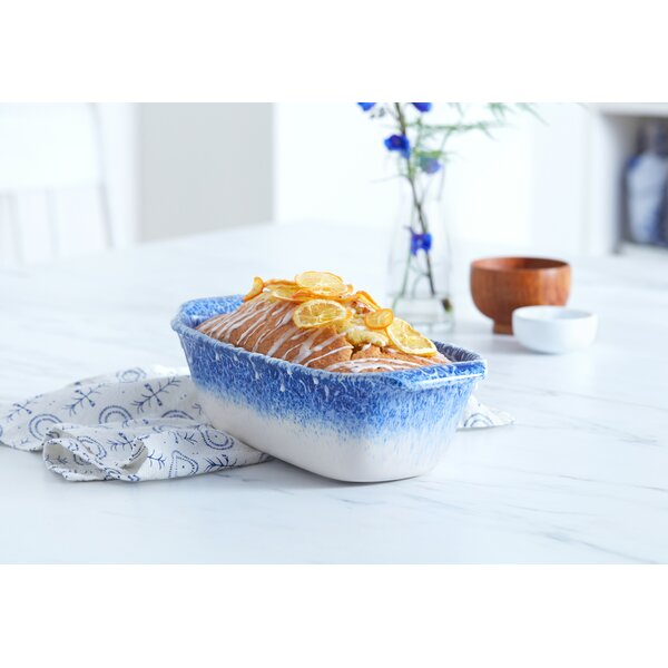 Artisan Rectangular Stoneware Loaf Dish by Libbey