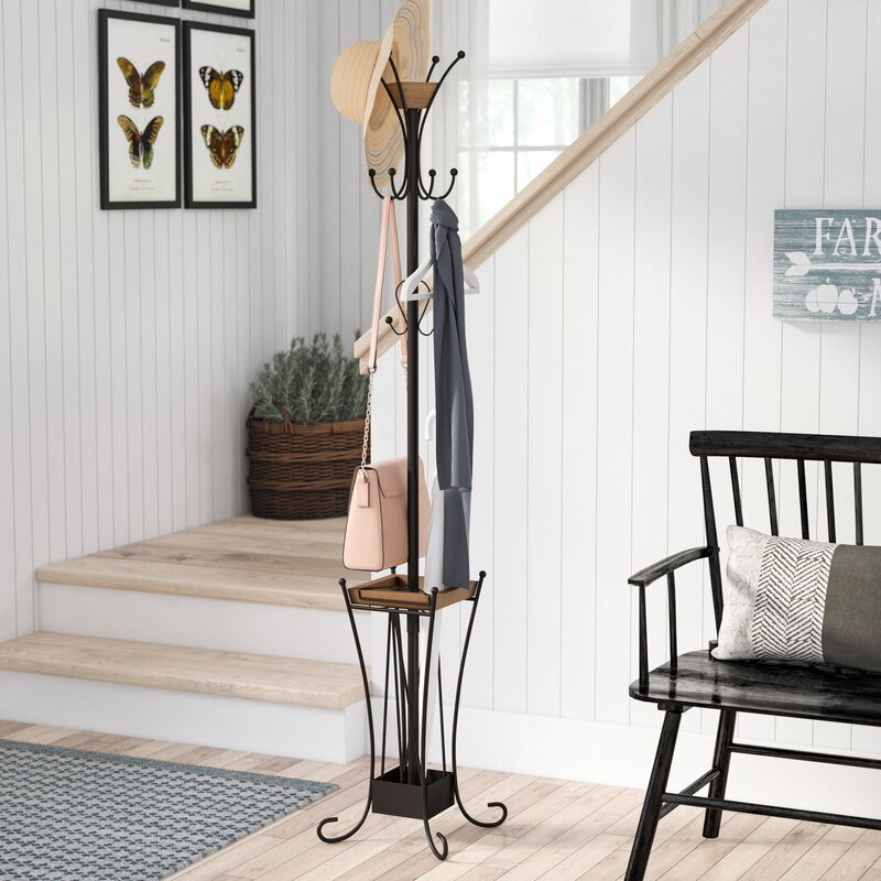 Laurel Foundry Modern Farmhouse Rosenbaum Coat Rack U0026 Reviews | Wayfair