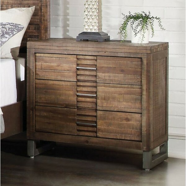 Woodinville 6 Drawer Nightstand by Foundry Select