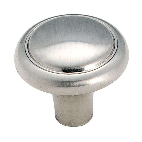Sterling Traditions Mushroom Knob by Amerock