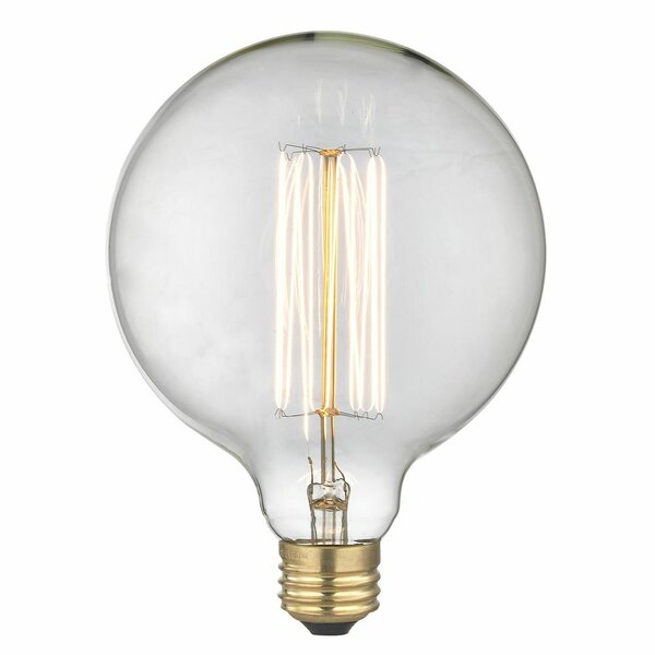 Eureka 40W E26/Medium Incandescent Vintage Filament Light Bulb by Light Society