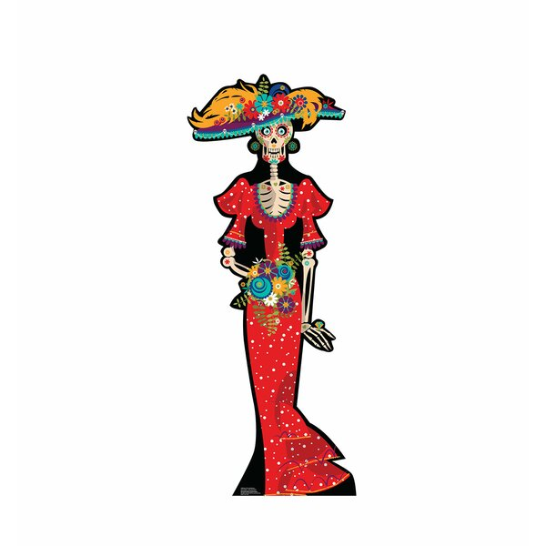 Day of the Dead Woman Standup by Advanced Graphics