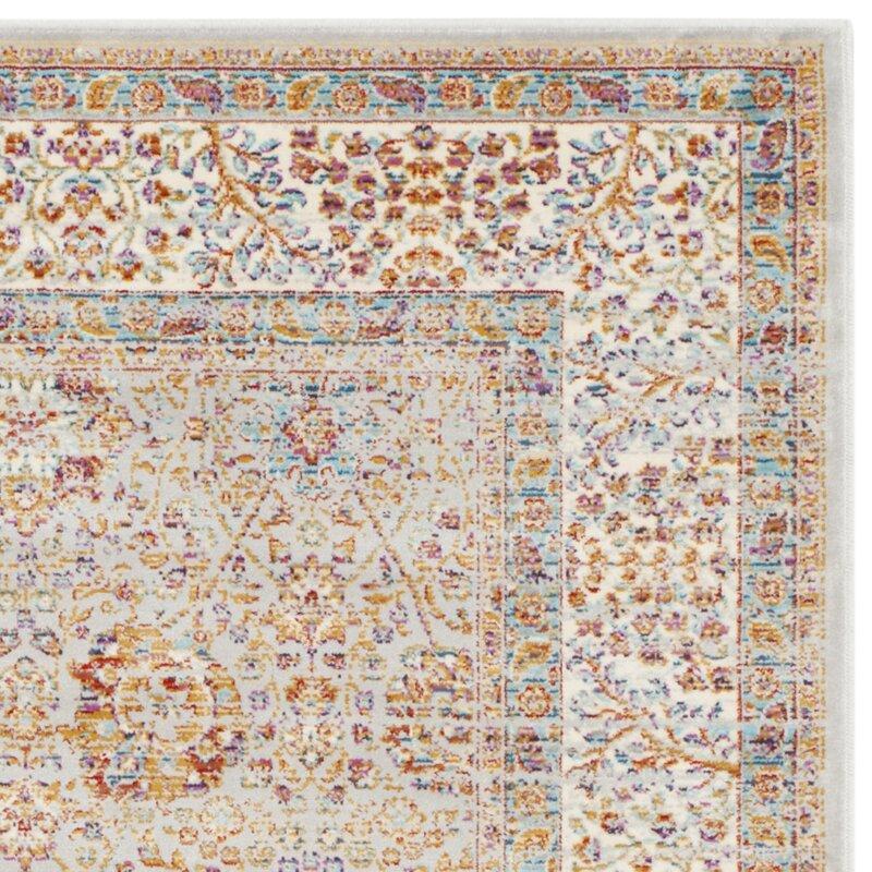 Safavieh teppich seville in silber elfenbein bewertungen for Balkon teppich mit tapete petrol silber