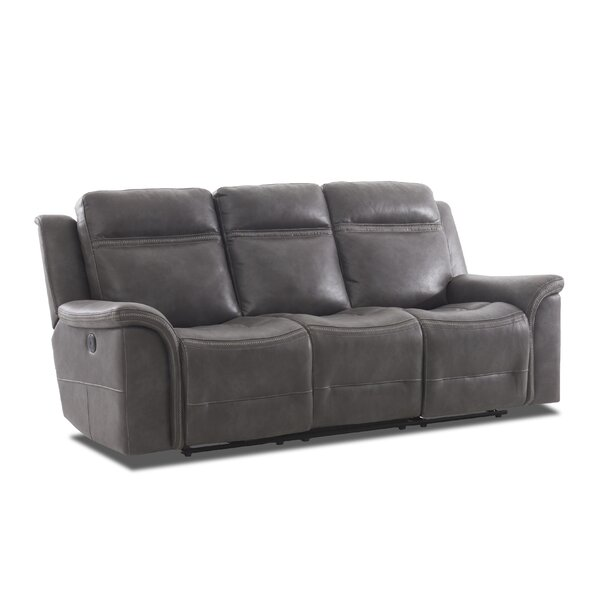Ruvalcaba Leather Reclining Sofa By Charlton Home