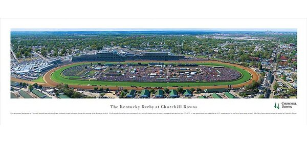 Churchill Downs Photographic Print by Blakeway Worldwide Panoramas, Inc