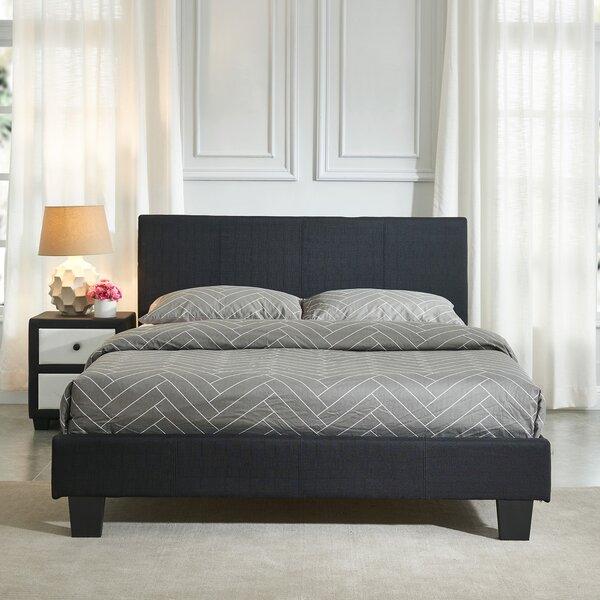 Kory Upholstered Platform Bed by Ebern Designs