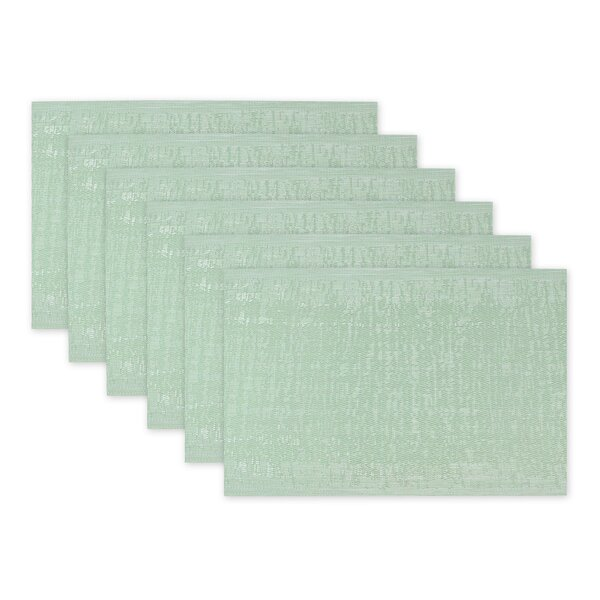 Fossen Space-Dyed Kitchen 19 Placemat (Set of 6) by Highland Dunes