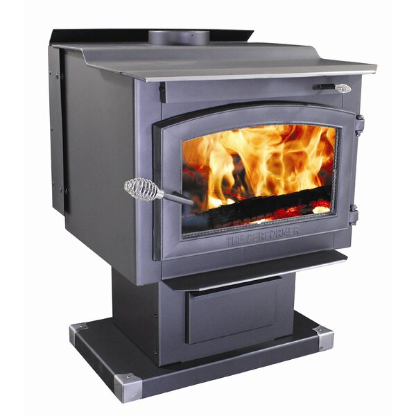 Performer 2,200 sq. ft. Direct Vent Wood Stove by Vogelzang