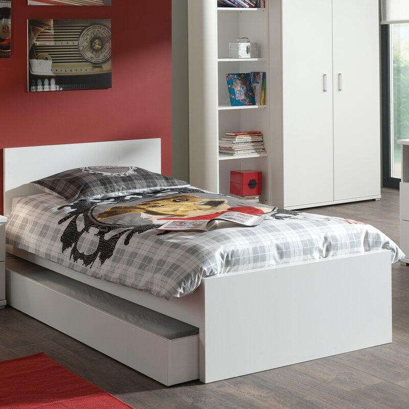 Vipack einzelbett milan 90 x 200 cm bewertungen for Jugendzimmer doppelbett