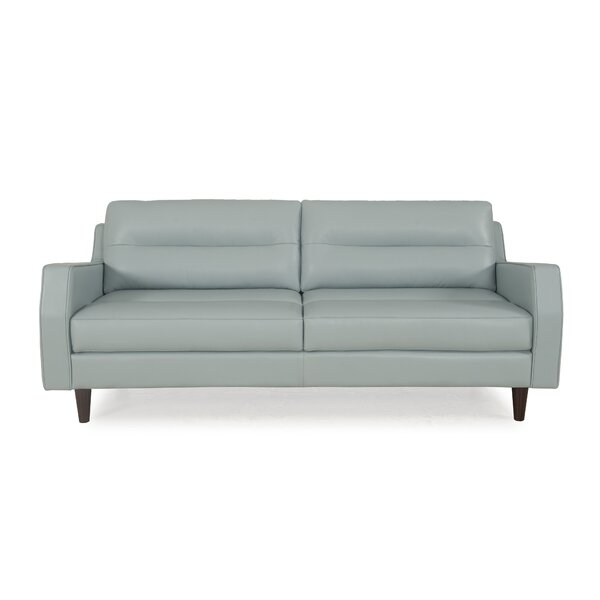 Chirag Leather Sofa by Latitude Run