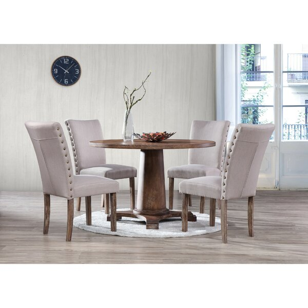 Metropole 5 Piece Dining Set by Gracie Oaks