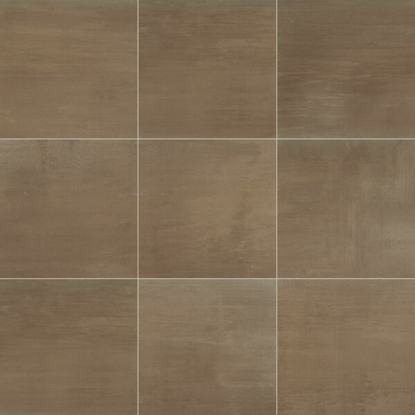Clearview 12 x 12 Ceramic on Field Tile in Brown by Itona Tile