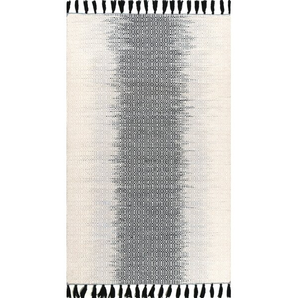 Baker Wool Gray Area Rug by Foundry Select