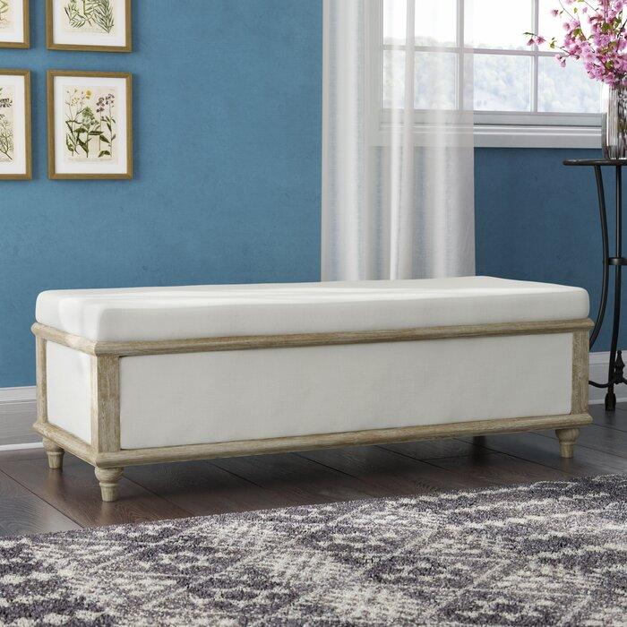 Awe Inspiring Pennie Upholstered Storage Bench Evergreenethics Interior Chair Design Evergreenethicsorg