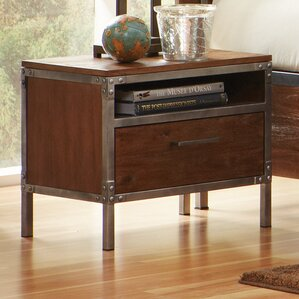 Tressider 1 Drawer Nightstand by Trent Austin Design