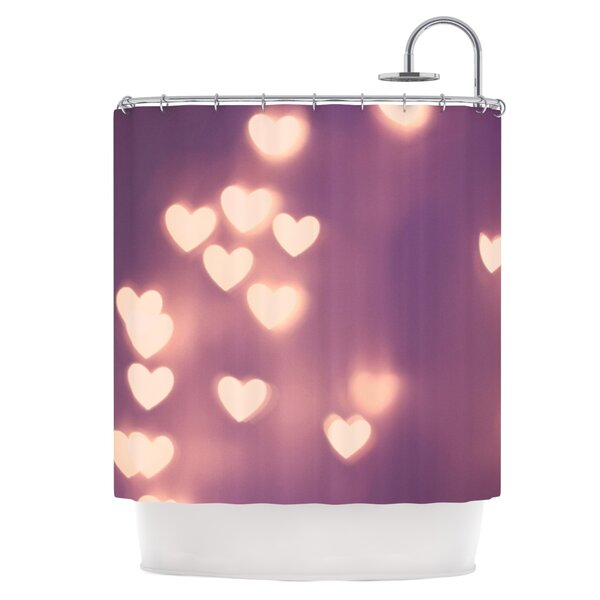 Your Love is Electrifying Shower Curtain by East Urban Home
