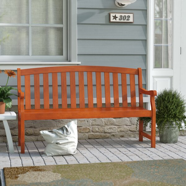 Defalco Garden Bench by Darby Home Co