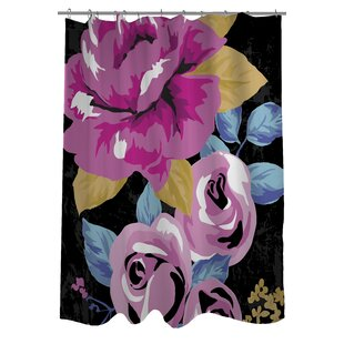 Rose Florals Shower Curtain