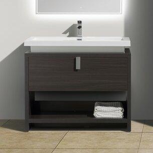 Haycraft 40 Single Bathroom Vanity Set by Orren Ellis
