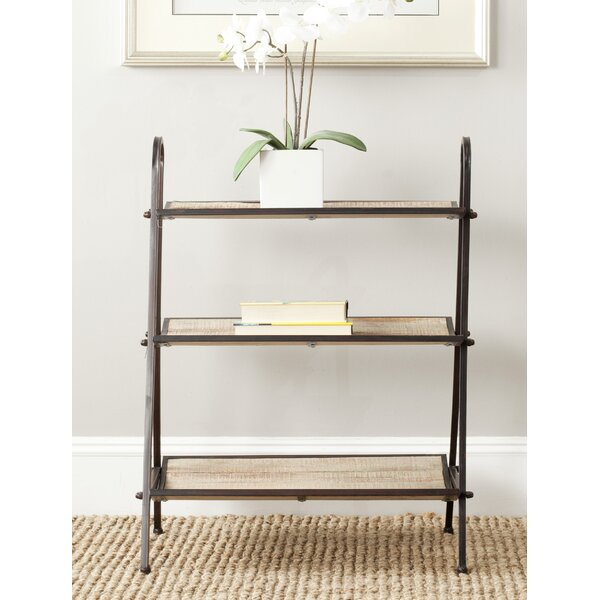 Rolfe Low Etagere Bookcase by August Grove