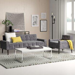 Perry 2 Piece Living Room Set by Zipcode Design™