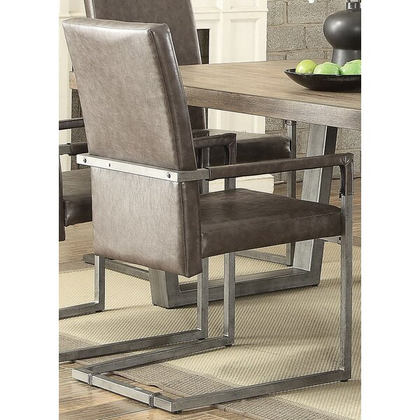 Emeline Upholstered Dining Chair (Set of 2) by 17 Stories